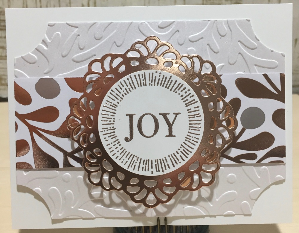 Copper Doily Joy '17 1